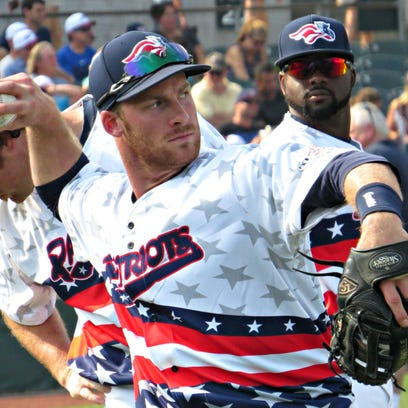 Infielder Greg Hopkins will be returning to the Patriots in 2016.