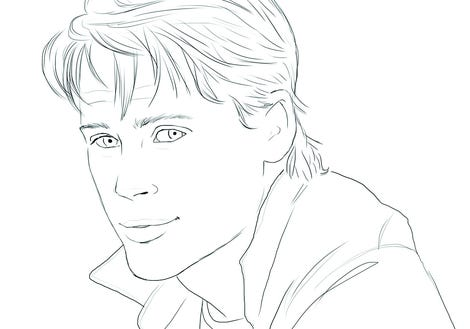 rob lowe in color me swoon photo mel elliottperigee - Celebrity Coloring Book