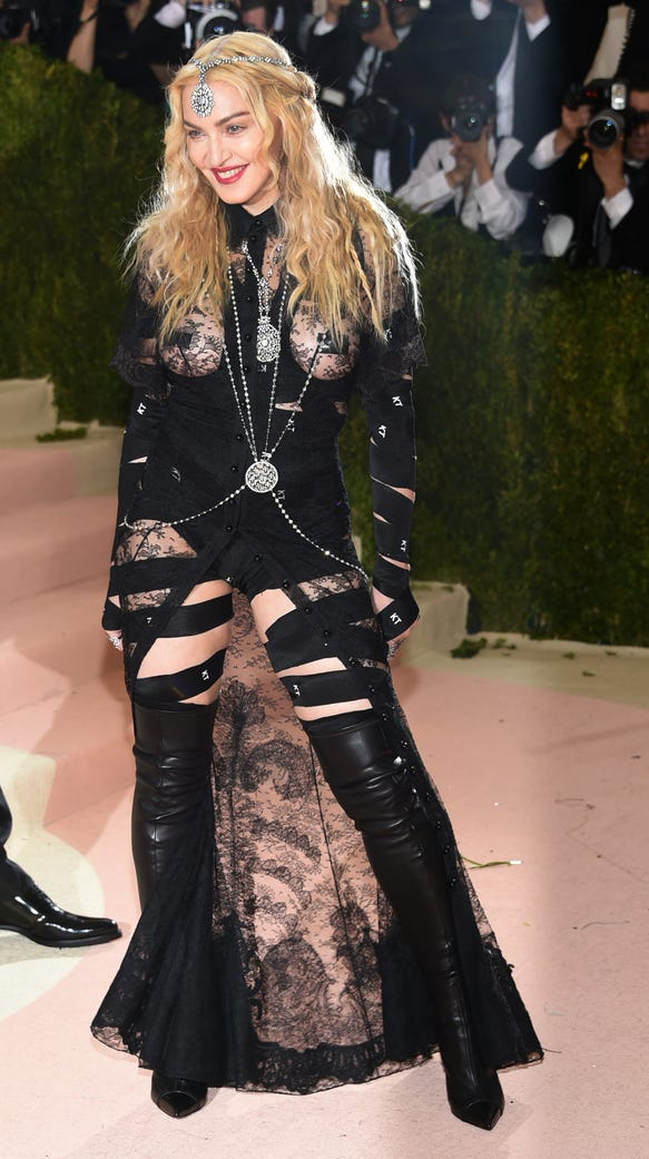 Madonna Says Her Met Gala Outfit Was Political But