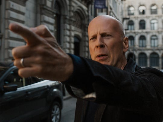 "Bruce Willis plays a doctor turned vigilante in ""Death"