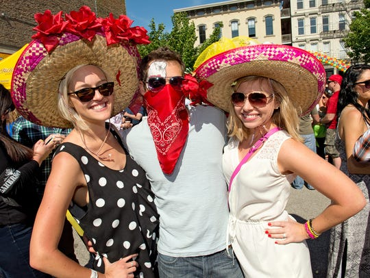 Bakersfield, the Mexican restaurant in Over-the-Rhine, hosted its third annual Buck's Badass Bash to celebrate Cinco de Mayo.