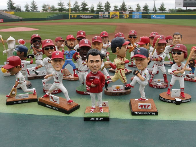 More than a dozen years since bobblehead dolls became wildly popular, fans still can't seem to get enough of them. The Springfield Cardinals will hand out 24,500 this season.