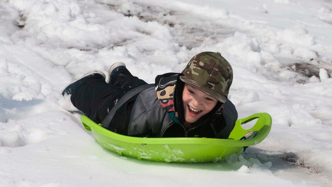Nothing reminds us of our snowy childhoods more than hitting the slopes on a sled.