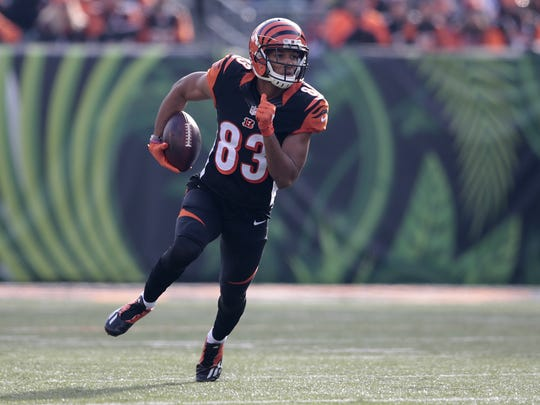 Only A.J. Green has had more receiving yards as a rookie in the Marvin Lewis Era.
