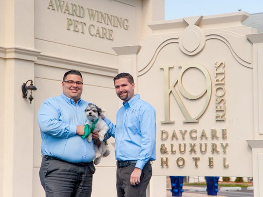 K-9 Resorts co-Founder's and co-CEO's Steven Parker (left) and Jason Parker.