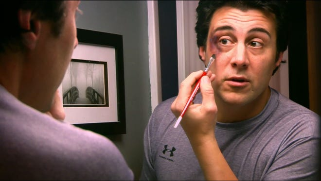Mike Kunda, 50, who lives in a ranch house in suburban Philadelphia, bears more than a passing resemblance to Sylvester Stallone.