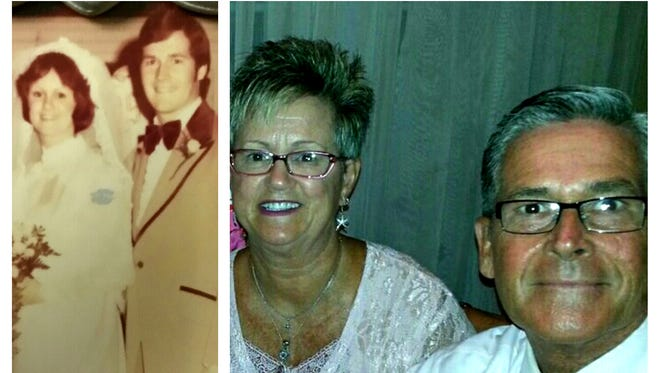 Steve and Holly Miller of Hanover are celebrating 40 years of marriage.