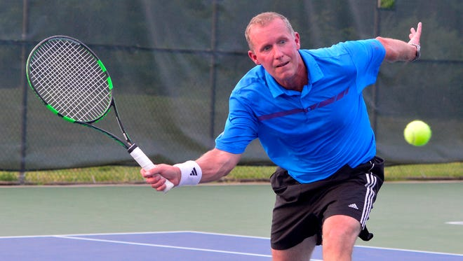 Jim Kohr will aim for his 18th York City-County Men's Singles title on Saturday evening. YORK DISPATCH FILE PHOTO