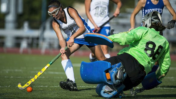 Cedar Crest's Emily Peters tallied 15 goals and nine assists last season.