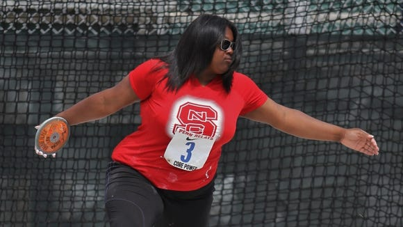 Roberson alum SeQuoia Watkins is a redshirt sophomore for the N.C. State women's track team.