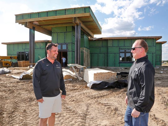Owner Walt Foster, right, and partner and builder David