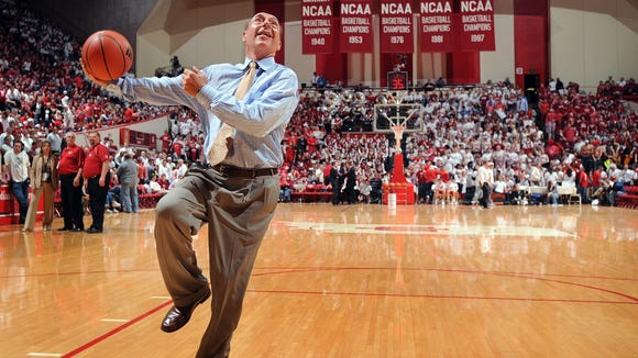Dick Vitale told Rick Bozich of WDRB in Louisville that he wants to play an active role in reigniting the IU-Kentucky series.