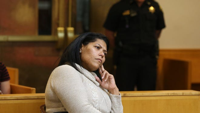 Rochester City Court Judge Leticia Astacio during a probation violation hearing Thursday, Nov. 9, 2017 in Rochester.