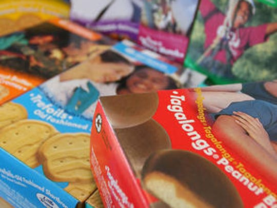 It's Girl Scout cookie season. The season ends March 10.