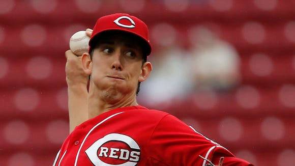 Cincinnati Reds starting pitcher Michael Lorenzen.