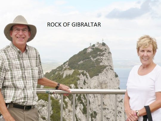 The Lights at the Rock of Gibraltar.