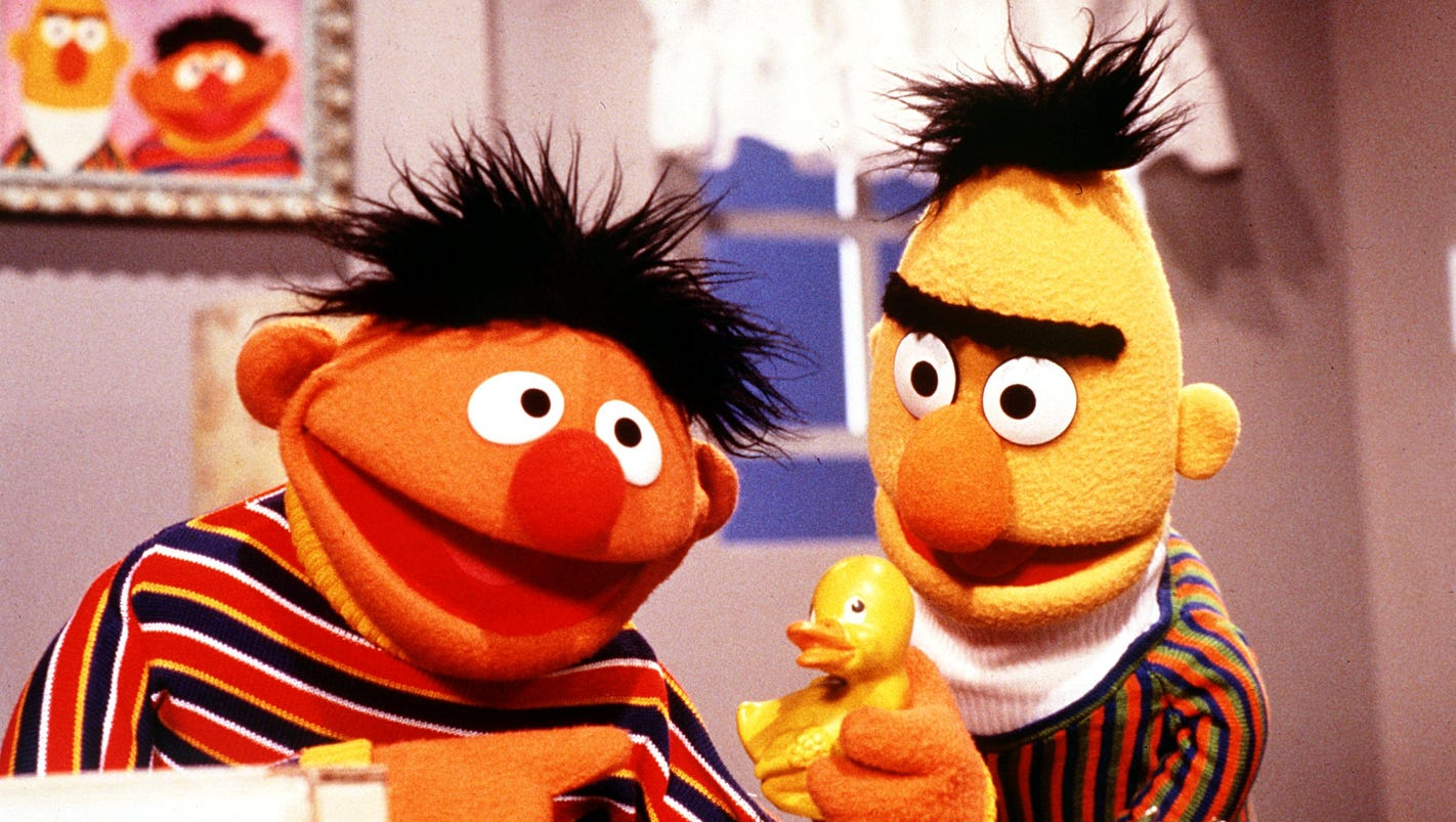 It is an image of Rare Sesame Street Images