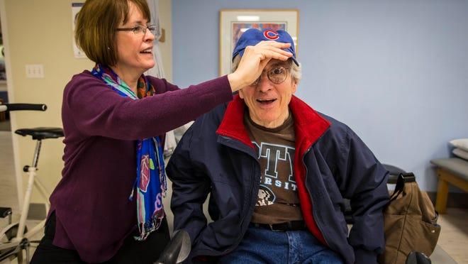 Dan Miller, the former longtime leader of IPTV, died Feb. 25, 2018, after battling multiple system atrophy. Miller is pictured in April 2015 with his wife, Diane Graham.