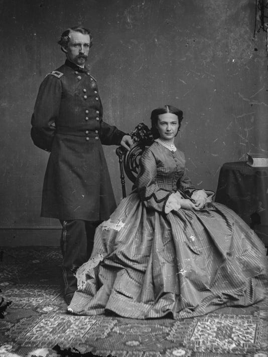 George and Elizabeth Custer