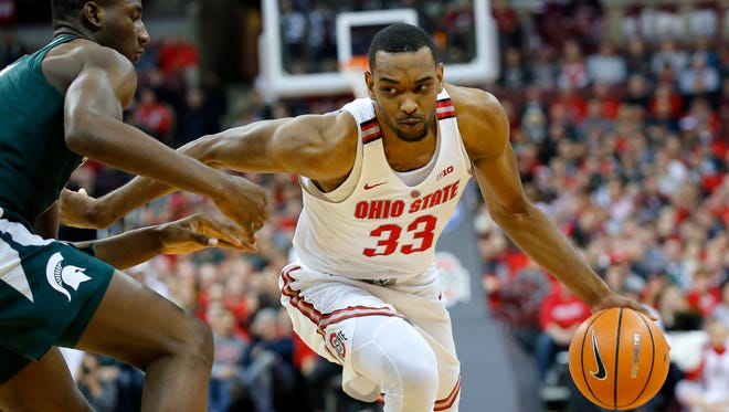 Ohio State moved to No. 3 in this week's Couch Index after a 16-point home win over Ohio State, led by Keita Bates-Diop's 32 points.