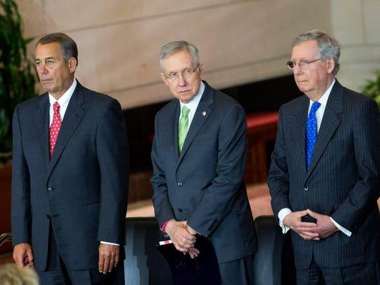 House Speaker Boehner Holds Congressional Gold Medal Ceremony For WWII Era Civil Air Patrol