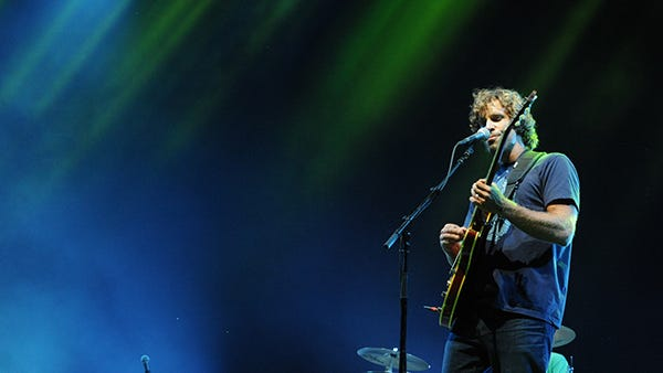 Jack Johnson plays at the Bonnaroo Music & Arts Festival  on  Saturday, June 15,  2013 in Manchester, Tenn.