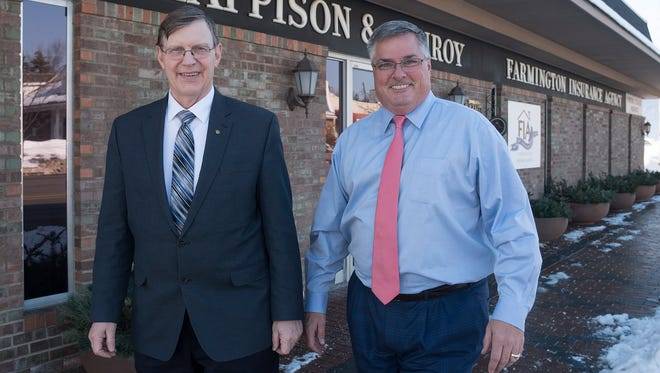 Dave Clappison and Patrick Donnelly are partners in the agency.