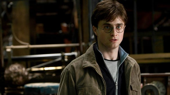 Daniel Radcliffe in 'Harry Potter and the Deathly Hallows: Part 2'