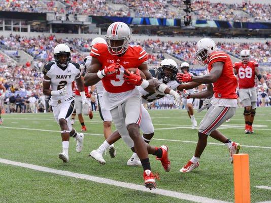 NCAA Football: Ohio State at Navy