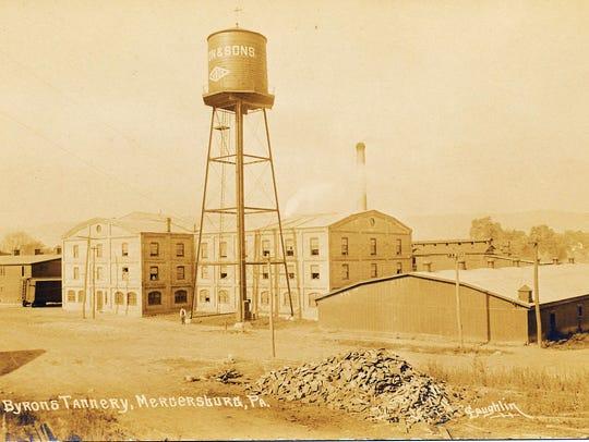 Byron's Tannery in Mercersburg, 1916