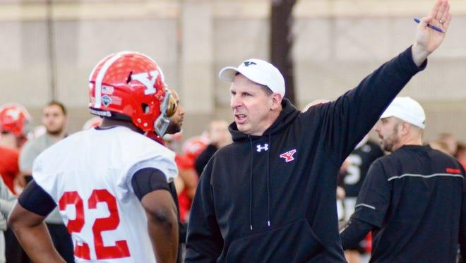 Bo Pelini is in his third year at YSU after seven seasons as the coach at Nebraska