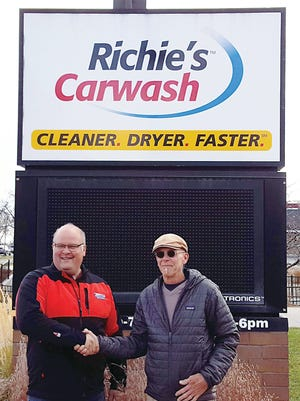 Breeze Thru Car Wash, owned by John Agnew, has opened its second Fort Collins location at 3141 S. College Ave., the former Richie's Car Wash, owned by Richie Frank, who retired and sold the business to Agnew.