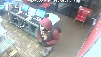 TPD is searching for a man it says robbed a Domino's on Capital Circle NE on Aug. 7.