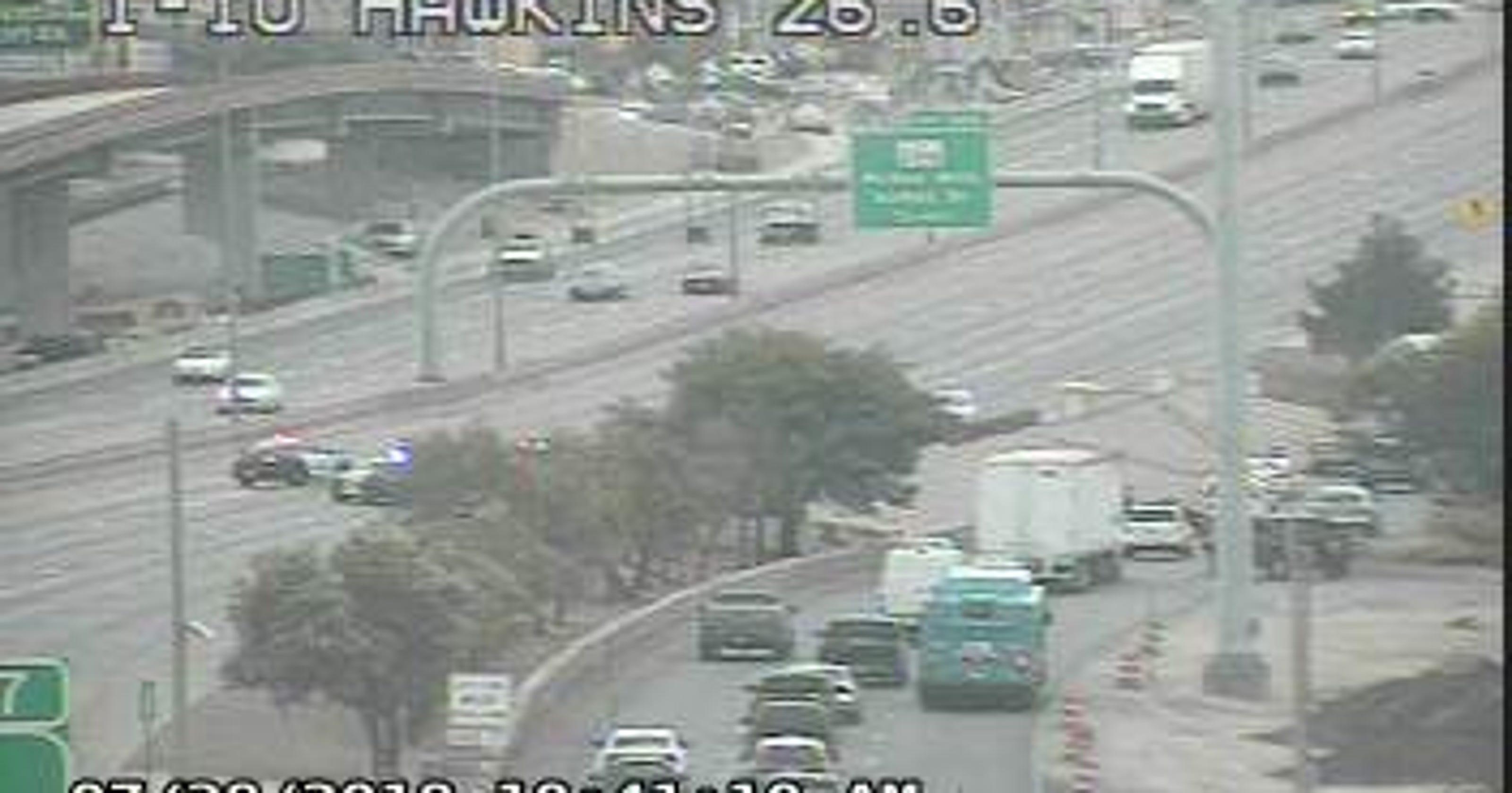 2 injured in I-10 East motorcycle crash