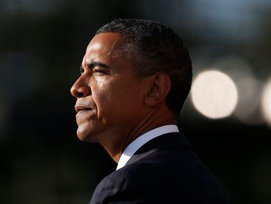 President Obama at Navy Yard memorial