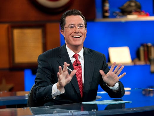 "Stephen Colbert will be taking over for David Letterman on the 'Late Show' when he retires in 2015. Colbert is the faux, hyper-conservative, patriotic host of Comedy Central's 'Colbert Report.' But he won't be bringing his over-the-top character to his new gig, so let's look back at Colbert's career of ""truthiness."""