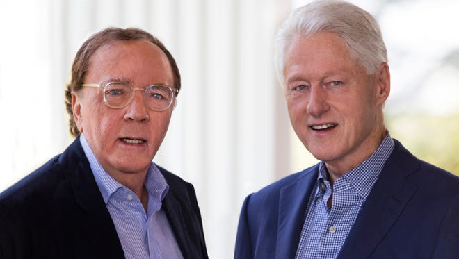 "Former president Bill Clinton, right, and James Patterson are collaborators on ""The President Is Missing."""
