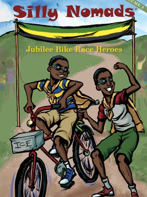 "Marcus E. Mohalland and J.L. Lewis' ""Silly Nomads - Jubilee Bike Race Heroes"""