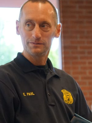 Redford Police Chief Eric Pahl
