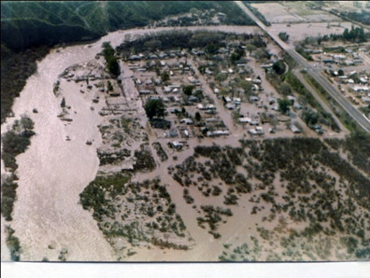 1983: Tropical Storm Octave caused floods that resulted