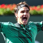 Roger Federer defeats Stan Wawrinka for 5th title at Indian Wells