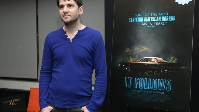 "Director David Robert Mitchell of ""It Follows."""