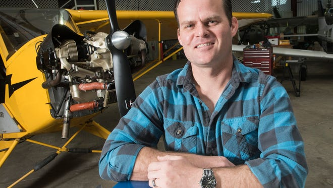 Naval Aviator, Ryan Rankin, recently completed his personal goal of flying 52-types of aircraft in 52-weeks. On Friday, Feb. 9, 2018, Rankin, describes his yearlong journey leading to his decision to buy an airplane of his own.