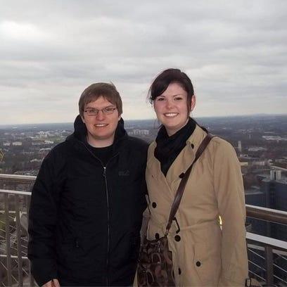 Maik Korolczuk and Oshkosh resident Kelsey McDaniels