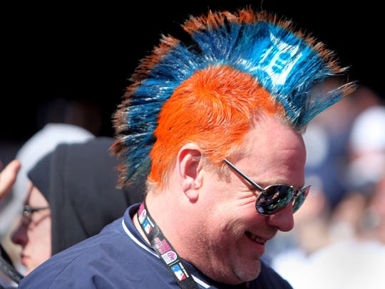 Ken Diehl of Southgate smiles after the Detroit Tigers