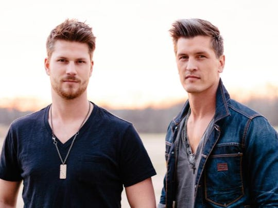 Wrapping up Saturday night, Canadian country duo High Valley, featuring brothers Brad and Curtis Rempel, will perform at 8:30 p.m. at the Marion County Fair.