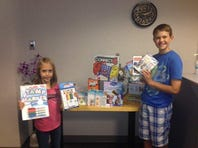 Siblings donate funds to hospital