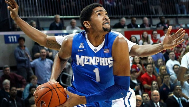 University of Memphis forward Dedric Lawson, named preseason Co-American Athletic Conference Player of the Year, is back after participating in the NBA Draft Combine and should be able to pick up where he left off last season: averaging 18.9 points and 10.2 rebounds in his final 12 games of 2015-16.