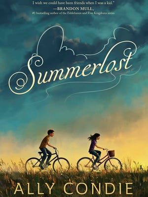 The cover of Summerlost, a fictional book based on Cedar City written by local Ally Condie.