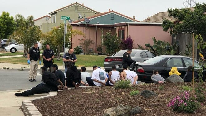 On Wednesday morning, authorities served a narcotics-related search warrant at a home located on the 500 block of Victor Street in Salinas.